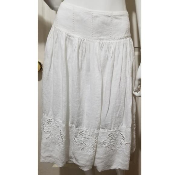 20a8689116 🎀NWT🎀 120% Lino Linen A-line Skirt